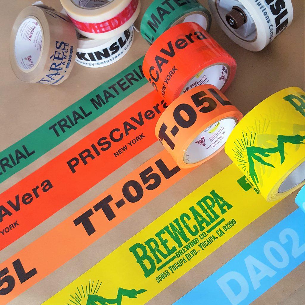 custom packing tape