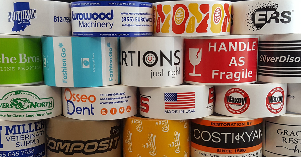 Custom Packing Tape with quick turnaround