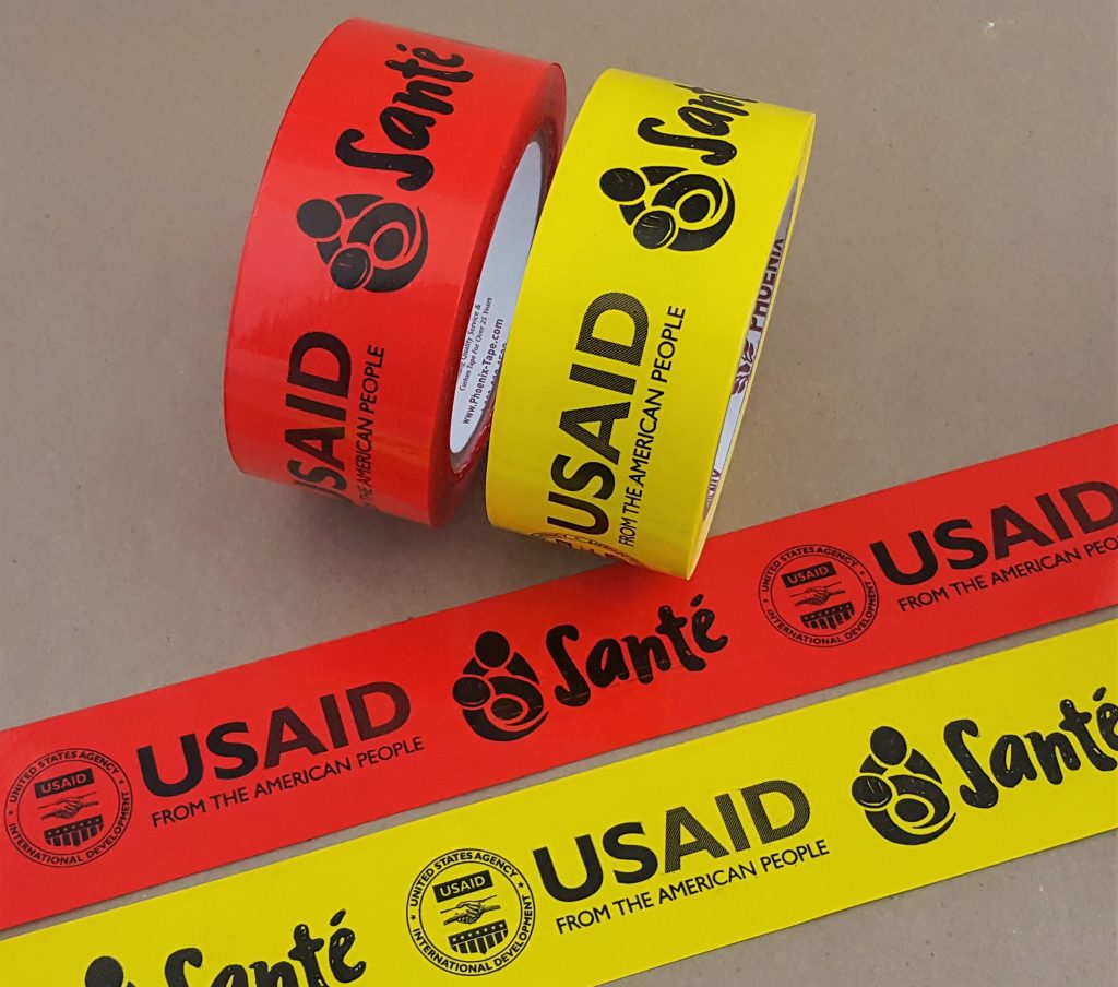 custom branded packing tape