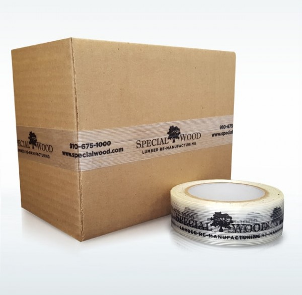 Custom Printed Filament Shipping Tape