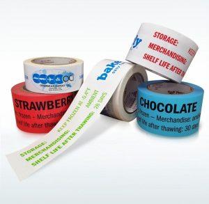 Custom Printed Tapes High Tack Freezer Tape