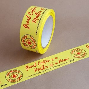 2-Ink yellow Poly Tape